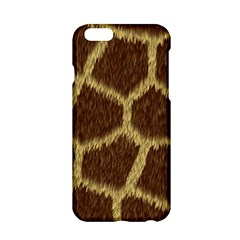 Background Texture Giraffe Apple Iphone 6/6s Hardshell Case by Celenk