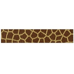 Background Texture Giraffe Large Flano Scarf  by Celenk