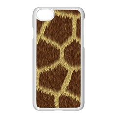 Background Texture Giraffe Apple Iphone 7 Seamless Case (white)