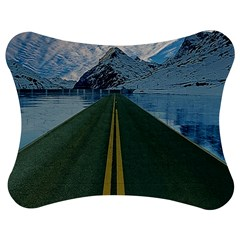 Road Ice Landscape Jigsaw Puzzle Photo Stand (bow) by Celenk
