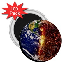 Climate Change Global Warming 2 25  Magnets (100 Pack)  by Celenk