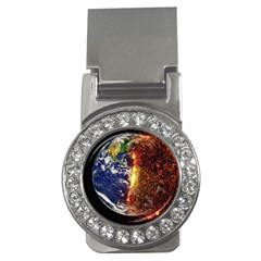 Climate Change Global Warming Money Clips (cz)