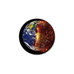 Climate Change Global Warming Golf Ball Marker