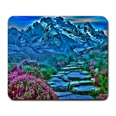 Pathway Nature Landscape Outdoor Large Mousepads by Celenk