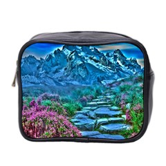 Pathway Nature Landscape Outdoor Mini Toiletries Bag 2 Side by Celenk