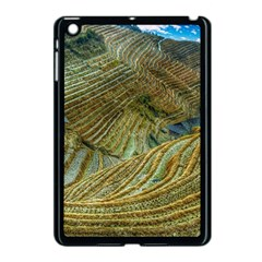 Rice Field China Asia Rice Rural Apple Ipad Mini Case (black)