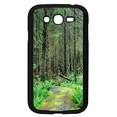 Forest Woods Nature Landscape Tree Samsung Galaxy Grand Duos I9082 Case (black)