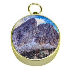 Rock Sky Nature Landscape Stone Gold Compasses by Celenk