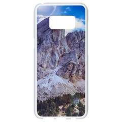 Rock Sky Nature Landscape Stone Samsung Galaxy S8 White Seamless Case by Celenk