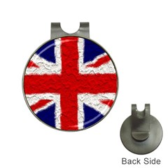 Union Jack Flag National Country Hat Clips With Golf Markers