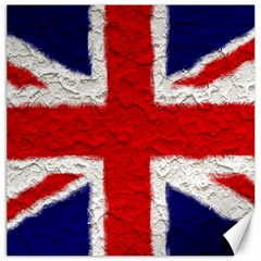 Union Jack Flag National Country Canvas 12  X 12   by Celenk
