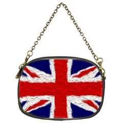 Union Jack Flag National Country Chain Purses (one Side)