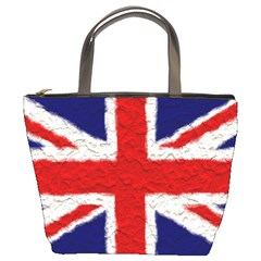 Union Jack Flag National Country Bucket Bags by Celenk