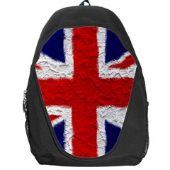 Union Jack Flag National Country Backpack Bag by Celenk