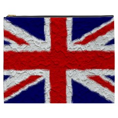 Union Jack Flag National Country Cosmetic Bag (xxxl)