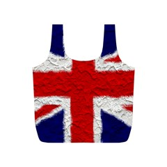 Union Jack Flag National Country Full Print Recycle Bags (s)  by Celenk