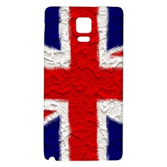 Union Jack Flag National Country Galaxy Note 4 Back Case by Celenk