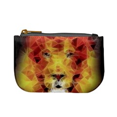 Fractal Lion Mini Coin Purses