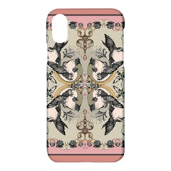 Vintage Birds Apple Iphone X Hardshell Case