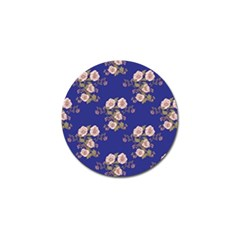 Ndigo Bedding Floral Golf Ball Marker (10 Pack) by Celenk
