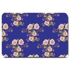 Ndigo Bedding Floral Large Doormat