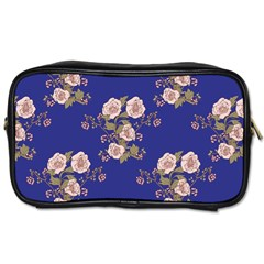 Ndigo Bedding Floral Toiletries Bags 2 Side by Celenk