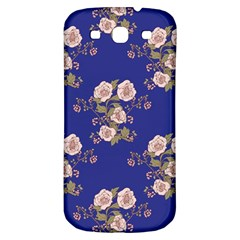 Ndigo Bedding Floral Samsung Galaxy S3 S Iii Classic Hardshell Back Case by Celenk