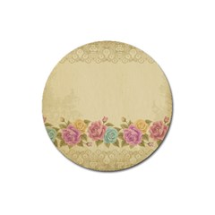Shabby Country Magnet 3  (round) by 8fugoso