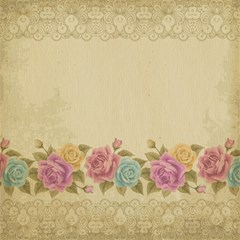 Shabby Country Canvas 12  X 12   by 8fugoso