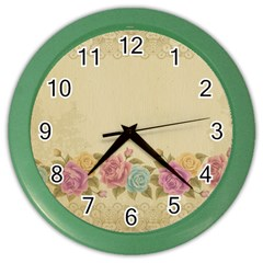 Shabby Country Color Wall Clocks by 8fugoso