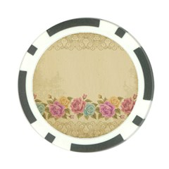 Shabby Country Poker Chip Card Guard by 8fugoso