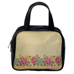 Shabby Country Classic Handbags (one Side) by 8fugoso