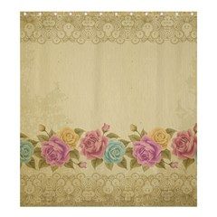 Shabby Country Shower Curtain 66  X 72  (large)  by 8fugoso