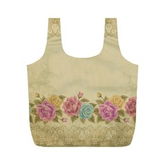 Shabby Country Full Print Recycle Bags (m)  by 8fugoso
