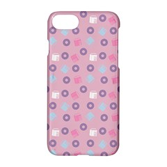 Milk And Donuts Pink Apple Iphone 7 Hardshell Case by snowwhitegirl