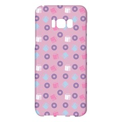 Milk And Donuts Pink Samsung Galaxy S8 Plus Hardshell Case  by snowwhitegirl