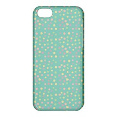 Light Teal Hearts Apple Iphone 5c Hardshell Case by snowwhitegirl