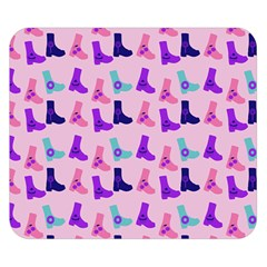 Candy Boots Double Sided Flano Blanket (small)  by snowwhitegirl