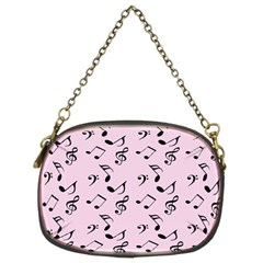 Pink Music Chain Purses (two Sides)  by snowwhitegirl