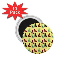 Yellow Boots 1 75  Magnets (10 Pack)  by snowwhitegirl