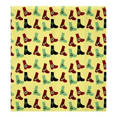 Yellow Boots Shower Curtain 66  X 72  (large)  by snowwhitegirl