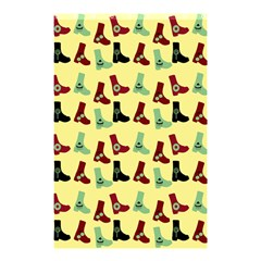 Yellow Boots Shower Curtain 48  X 72  (small)  by snowwhitegirl