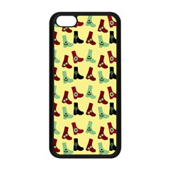 Yellow Boots Apple Iphone 5c Seamless Case (black) by snowwhitegirl