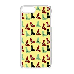 Yellow Boots Apple Iphone 7 Plus Seamless Case (white) by snowwhitegirl