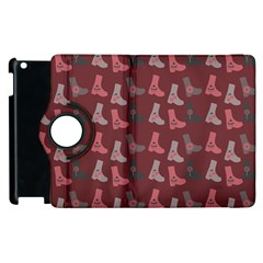 Rosegrey Boots Apple Ipad 2 Flip 360 Case by snowwhitegirl