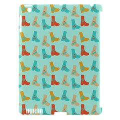 Blue Orange Boots Apple Ipad 3/4 Hardshell Case (compatible With Smart Cover) by snowwhitegirl