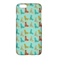 Blue Orange Boots Apple Iphone 6 Plus/6s Plus Hardshell Case by snowwhitegirl