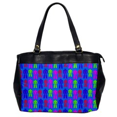 Neon Robot Office Handbags