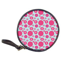 Blue Retro Dots Classic 20-cd Wallets