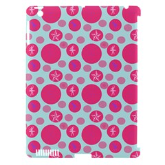 Blue Retro Dots Apple Ipad 3/4 Hardshell Case (compatible With Smart Cover) by snowwhitegirl